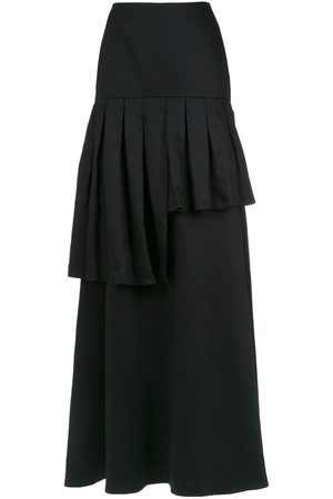 Adriana Degreas Frilled maxi skirt