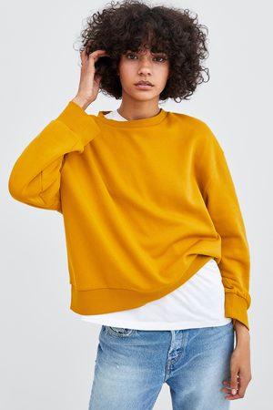 Zara Sweatshirts - BASIC SWEATSHIRT