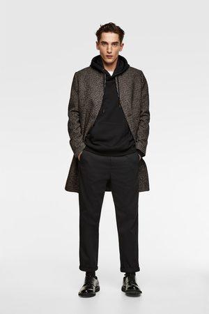 Zara Inverted lapel coat