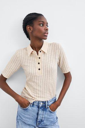 Zara Polo collar t-shirt