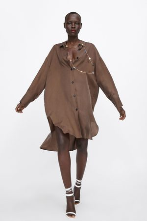 Zara Long asymmetric shirt