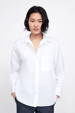 Zara Basic shirt with pocket