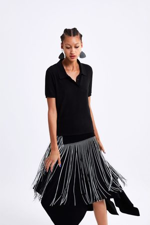 Zara Soft-touch polo shirt