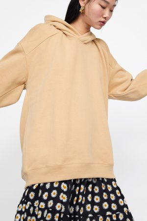 Zara Oversized hooded sweatshirt