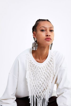 Zara Fringed sweatshirt