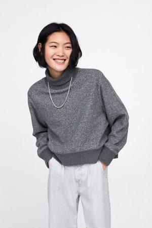 Zara Contrast sweatshirt