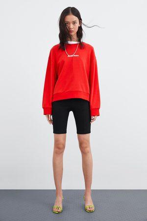 Zara Sweatshirt with front slogan