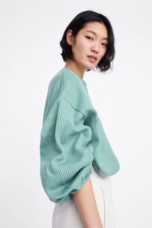 Zara Ribbed sweatshirt
