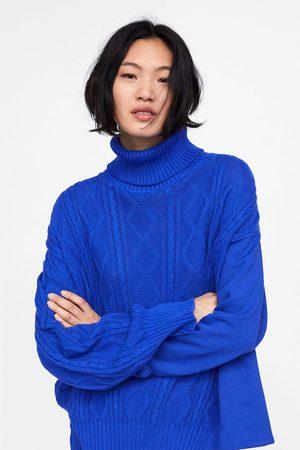 Zara Cable knit sweatshirt