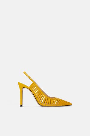 Zara Slingback high heel shoes with straps
