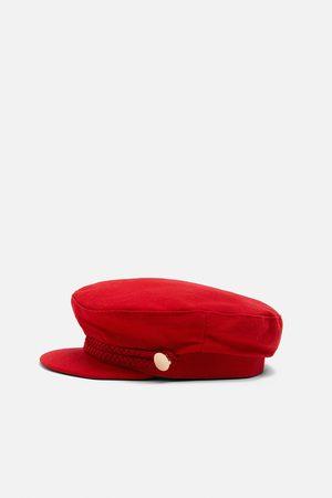 Zara Nautical cap with buttons