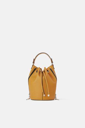 Zara Bucket bag with zips