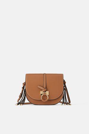 Zara Semicircular crossbody bag