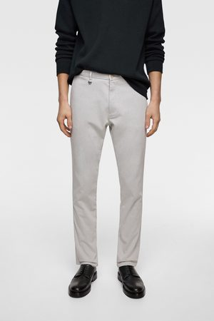 Zara Chino trousers with a textured weave