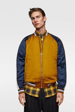 Zara Flowing bomber jacket