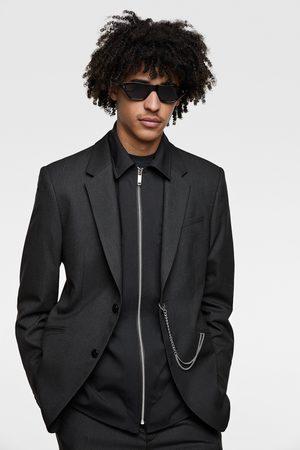 Zara Pinstripe suit blazer