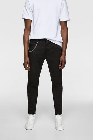 Zara Overdyed trousers with chain