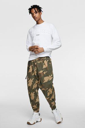 Zara Raised slogan hoodie