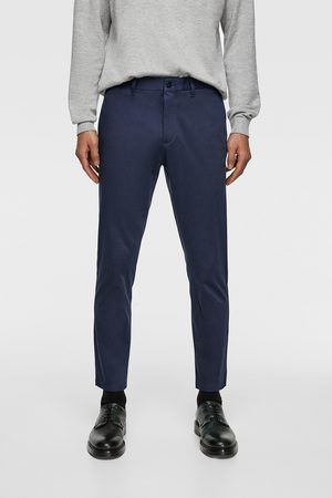 Zara New cropped chino trousers