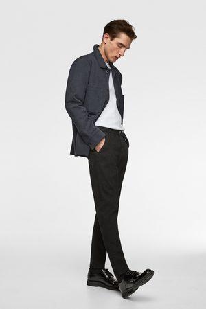 Zara Denim chino trousers