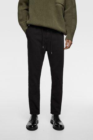Zara Soft cotton jogging trousers