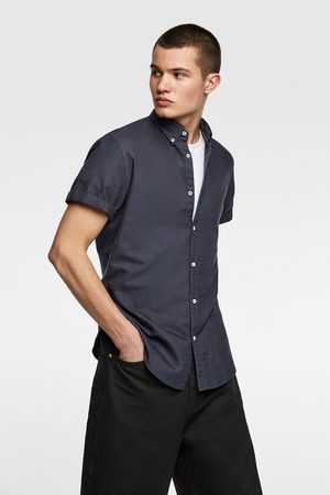 Zara Short sleeve oxford shirt