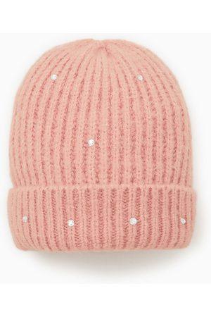 Zara Glittery ribbed hat