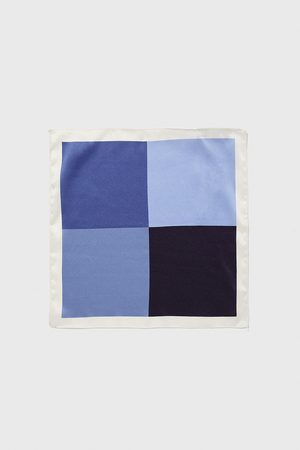 Zara Square-design pocket square