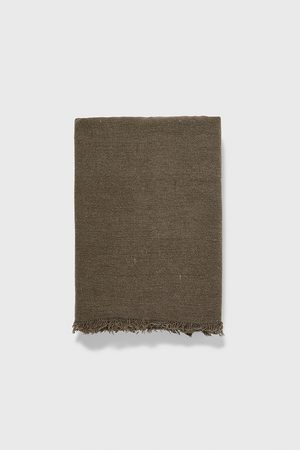 Zara Basic textured scarf