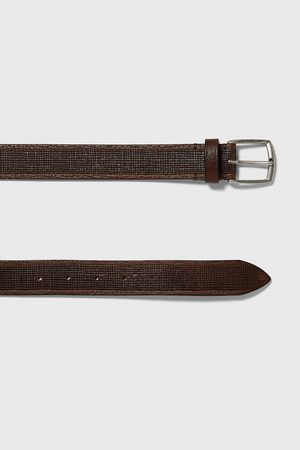 Zara Embossed leather belt