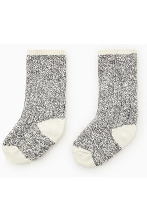 Zara Twisted yarn socks