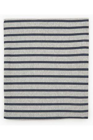 Zara Striped cotton snood