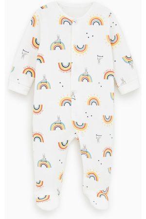Zara Rainbow sleepsuit