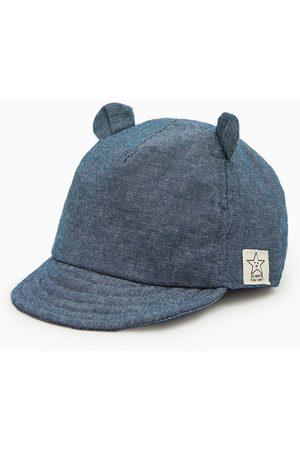 Zara Baby Caps - Denim cap with ears