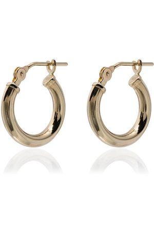 LOREN STEWART 14kt huggie hoop earrings