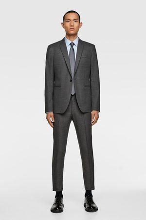 Zara Men Blazers - Textured suit blazer