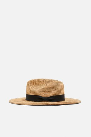 Zara Women Hats - Raffia hat