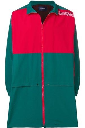 John Undercover Colourblock mid-length sports jacket