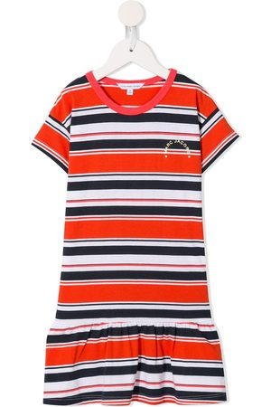 The Marc Jacobs Kids Striped logo T-shirt