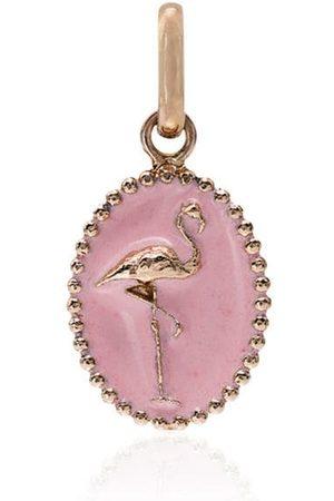 GIGI CLOZEAU And rose gold flamingo charm