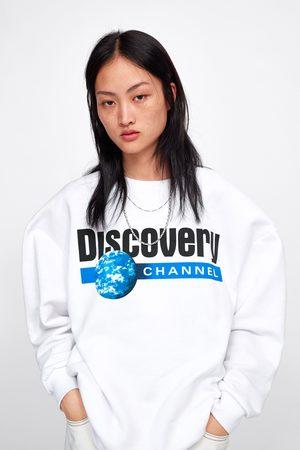 Zara © discovery channel sweatshirt
