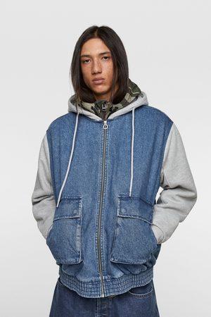 Zara Jacket with contrasting hood
