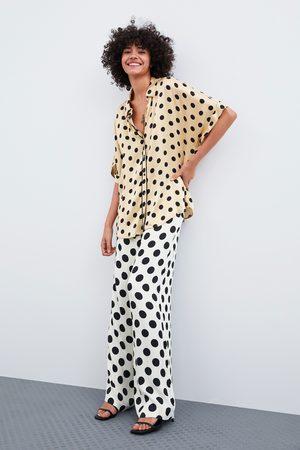 Zara Polka dot pyjama shirt