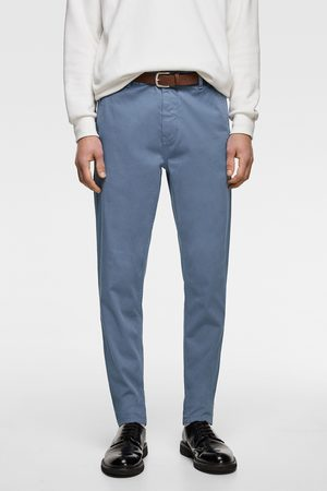 Zara Men Chinos - Chino trousers with belt