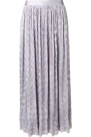 Armani Women Maxi Skirts - Crinkle maxi skirt