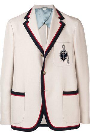 Gucci Anchor crest blazer