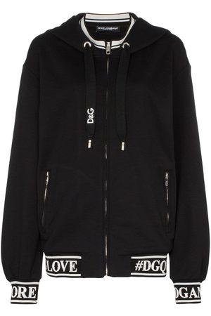 Dolce & Gabbana Logo print cotton hoodie