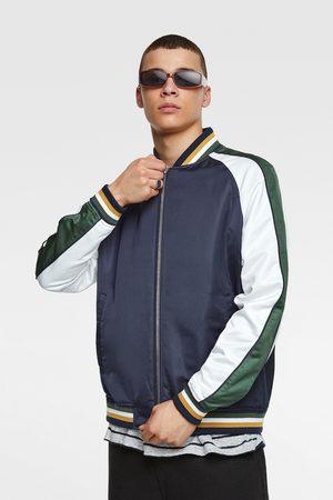 Zara Men Bomber Jackets - Flowing bomber jacket