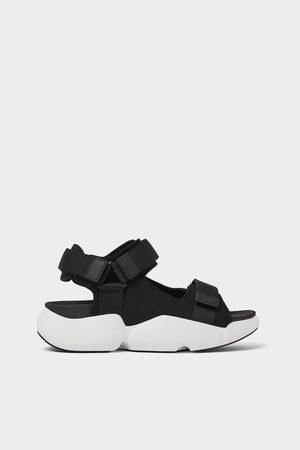 Zara Men Sandals - Technical sandals with maxi soles