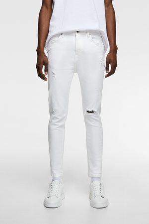 Zara Men Skinny - Ripped carrot fit skinny jeans